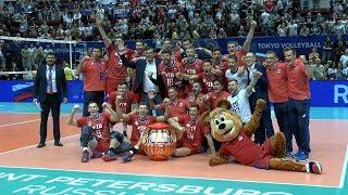 Волейбол. Сборная России заняла 1 место в Олимпийской квалификации Токио 2020