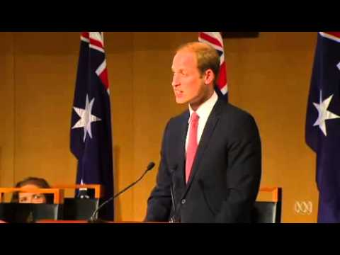 Prince William and Catherine tour Canberra