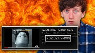 Reacting to a diss track someone made about me