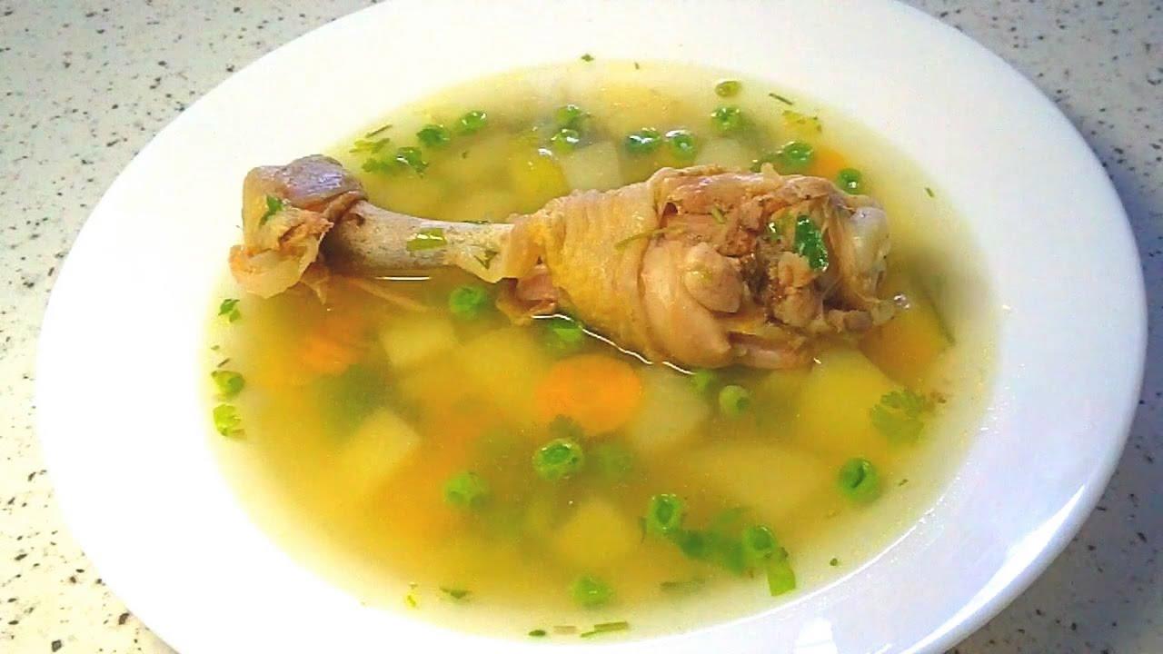 суп с молодым горошком рецепт