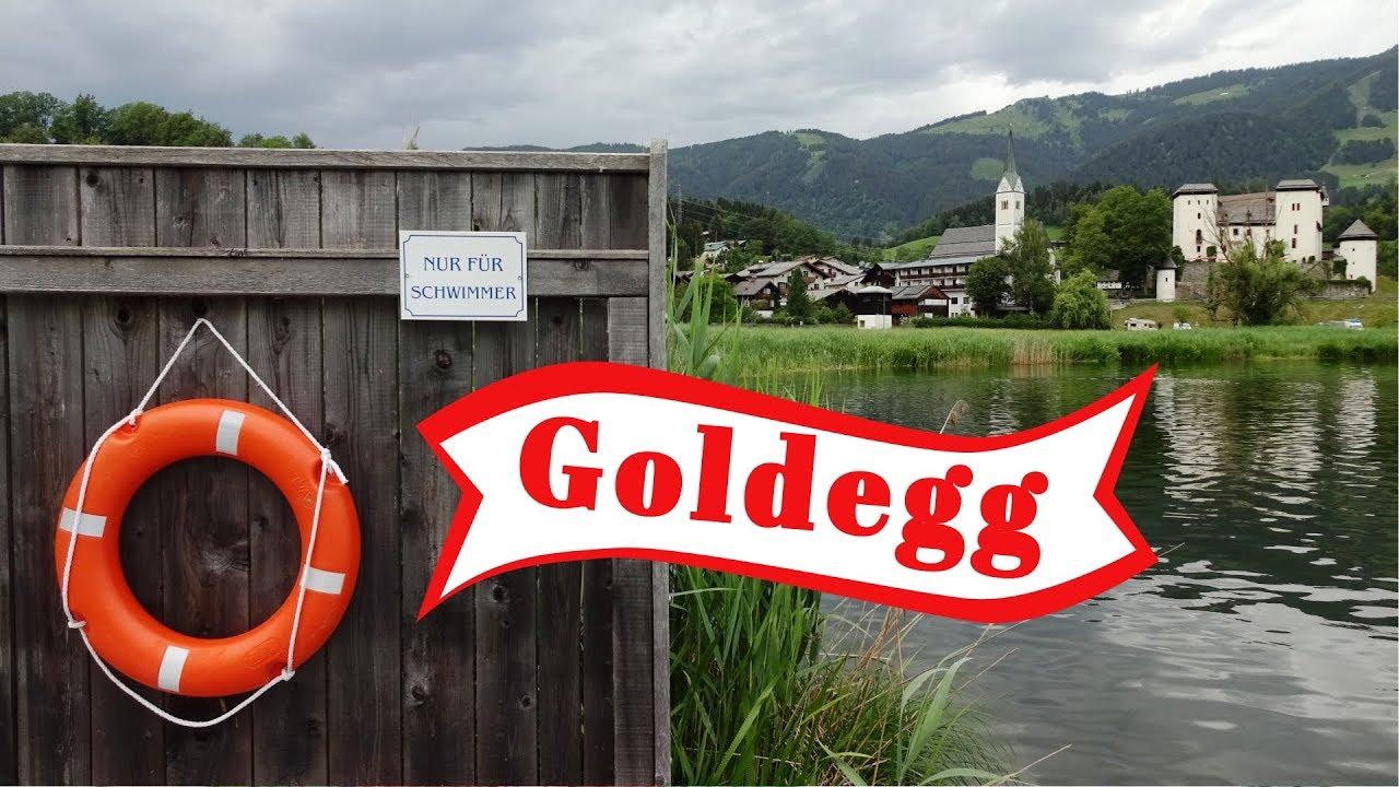 Отдых на озере у Замка. Goldegger See Австрия