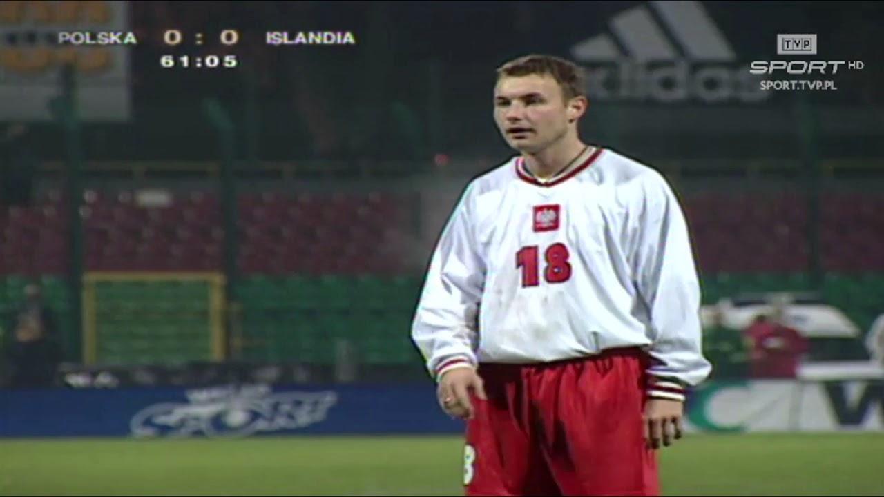 Retro TVP. Polska – Islandia 1:0 (2000), pierwszy gol Frankowskiego w kadrze