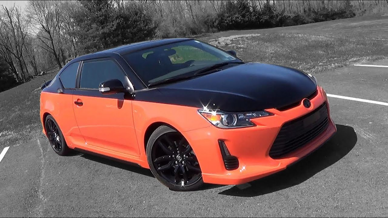 2015 Scion tC Release Series 9.0: Review - YouTube