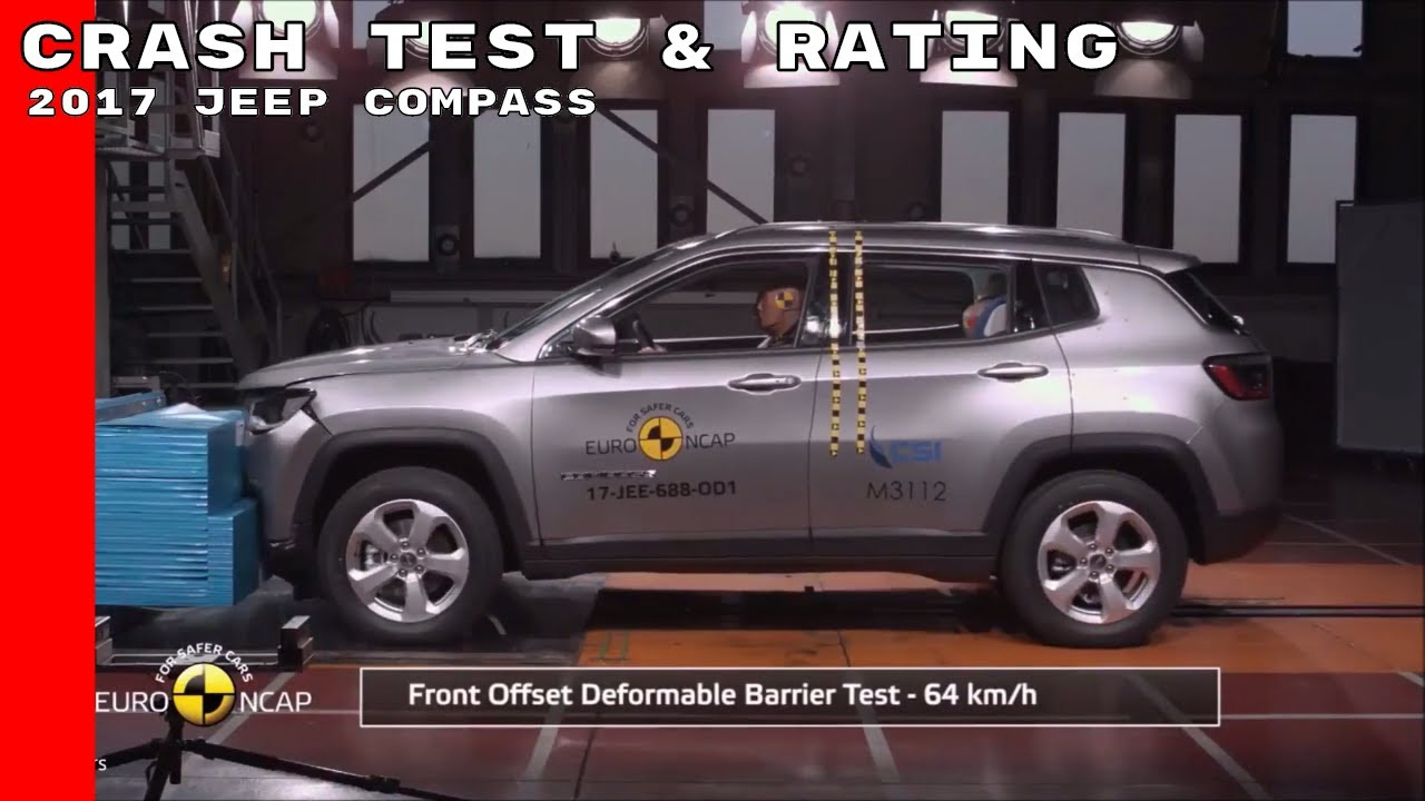 2017 Jeep Comp Crash Test Rating