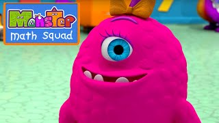Monster Math Squad |  FULL EPISODE  | Monster Garbage Heap | Learning Numbers Series