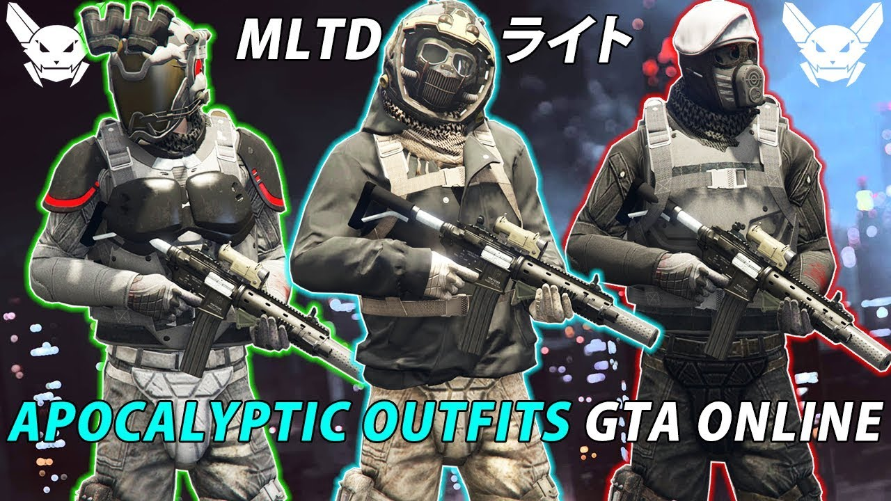 *NEW* TOP 3 BEST APOCALYPTIC OUTFITS | ARENA WAR 1 46 | GTA Online | NOT  MODDED | Glitched