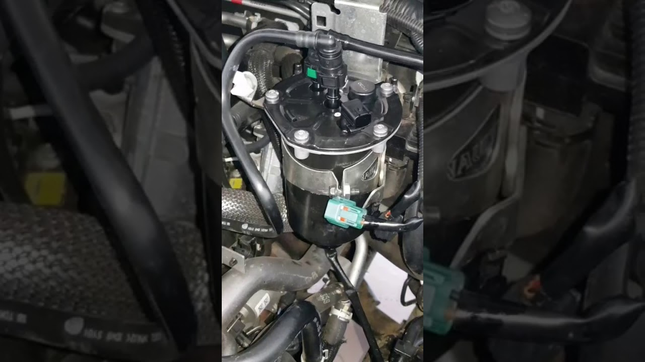 change fuel filter navara np300 d23 - youtube  youtube