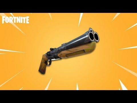 *NEW* DOUBLE BARREL SHOTGUN in Fortnite Battle Royale LIVE