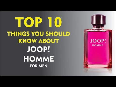 Top 10 Things About: Joop! Homme for men