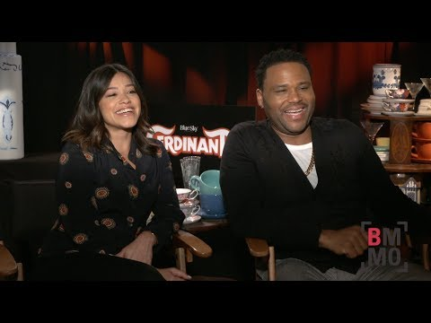 Gina Rodriguez & Anthony Anderson Interview - Ferdinand