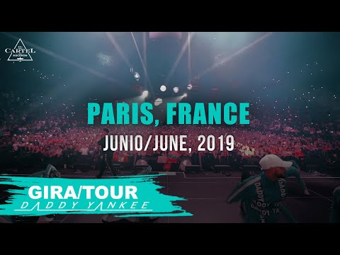 Daddy Yankee - Con Calma Gira/Tour Paris - France 2019