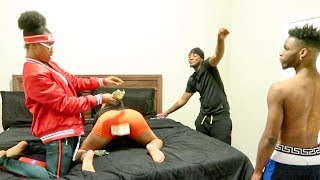PIMPING MY GIRLFRIEND FOR RENT MONEY PRANK ON AR'MON AND TREY!!!