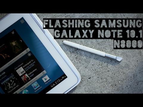 Tutorial Flashing Samsung Galaxy Note 10.1 N8000