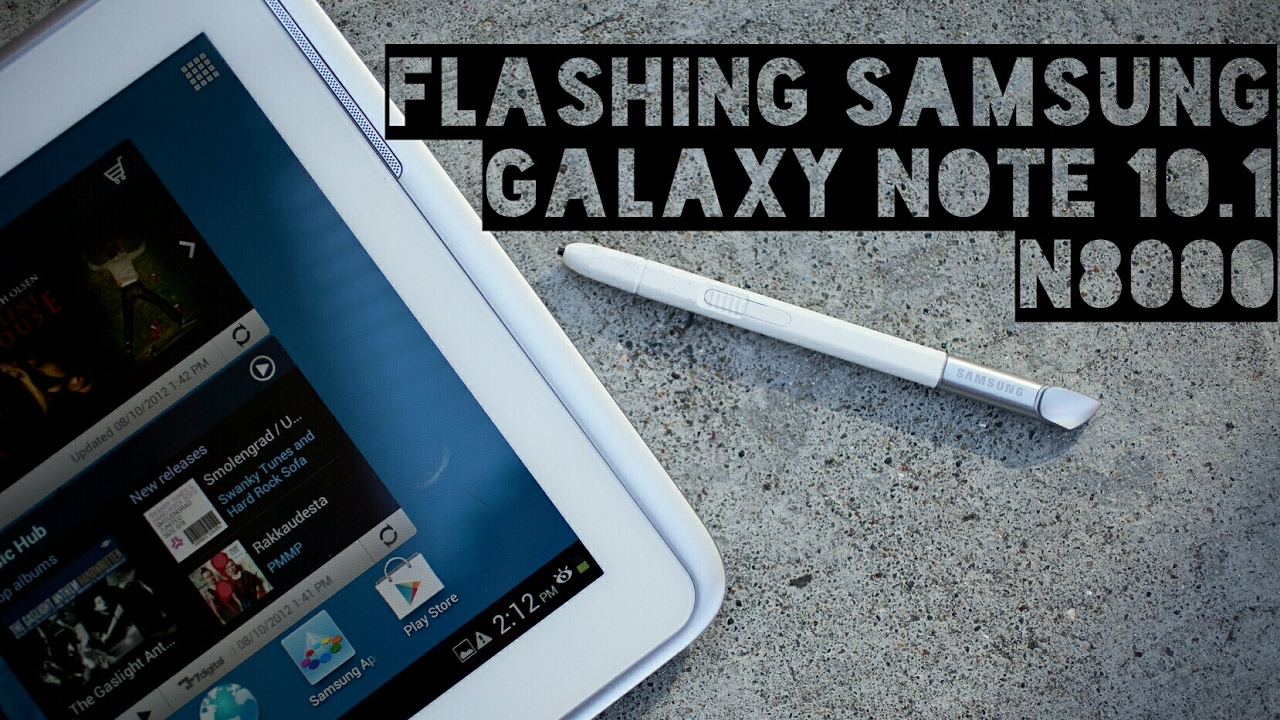 How to flash n8000 34