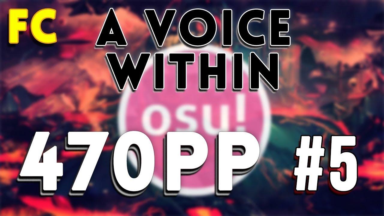 Osu   Intervals - A Voice Within [Deity]   99.92% FC #5   470pp