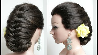 Beautiful Hairstyles.  Easy Party Hairstyle