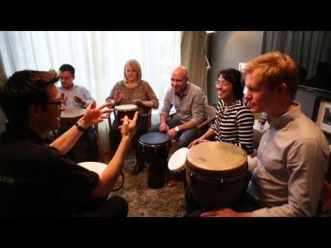 Dominic Goundar - Drumming Facilitator for Creative Team Events