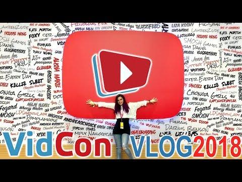 MY FIRST VIDCON EXPERIENCE (VidCon 2018 Vlog)