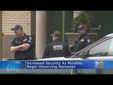 NYPD Steps Up Mosque Security For Ramadan