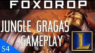 [Season 4] *LIVE* Diamond Gragas Jungle Gameplay Commentary | League of Legends