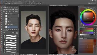 Lee Soo Hyuk ( 이수혁 ) Speed Painting