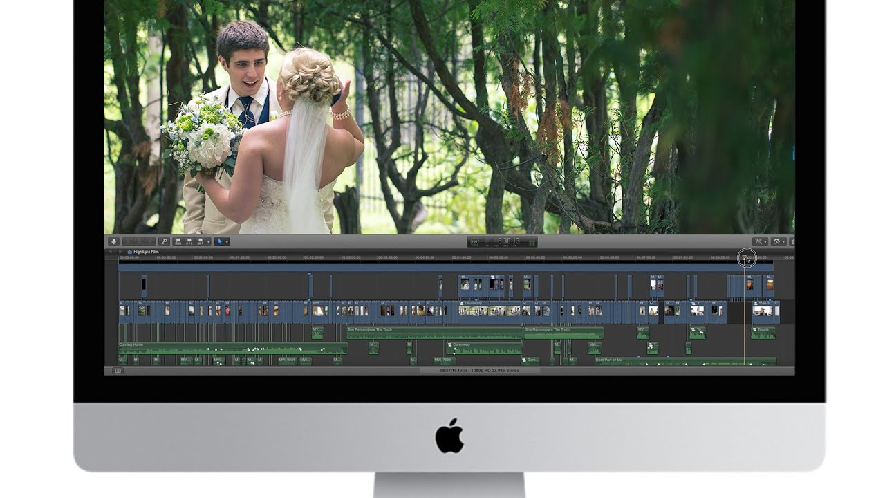 How To Edit A Wedding Highlight Film Fcpx