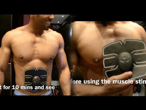 Does Muscle Stimulator Work? | Results In 10 MINS! from YouTube · Duration:  5 minutes 17 seconds