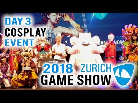 Zürich Games Show 2018 Cosplay Event Day 3