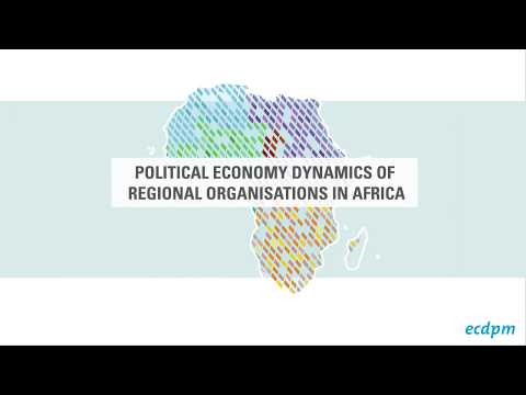 Regional Organisations in Africa - An interactive map