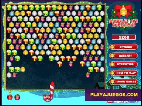 bubble hit christmas ---  Juegos en línea gratis para Sony