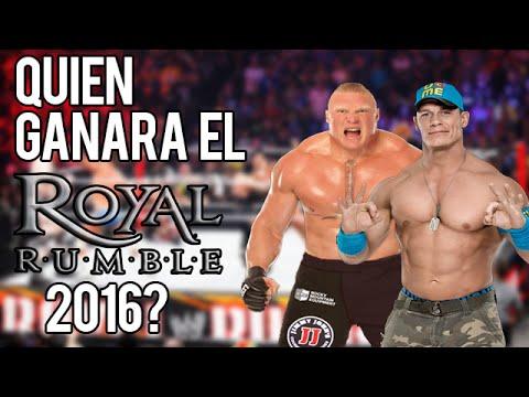 Que Luchadores/Candidatos Pueden Ganar El Royal Rumble 2016?