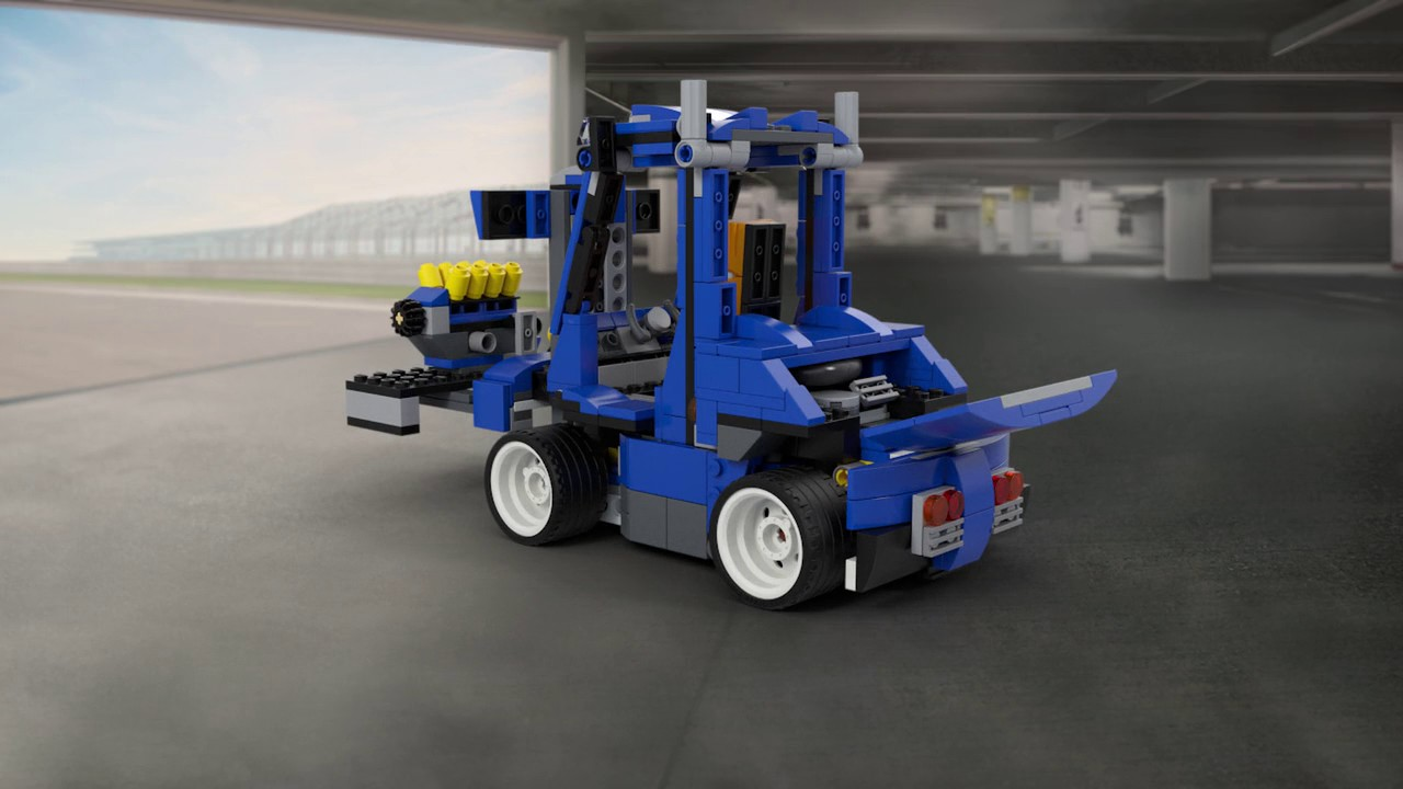 Turbo Track Racer Lego Creator 3in1 31070 Product Animation