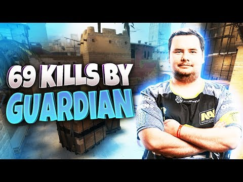 CS:GO - GuardiaN 69 kills on Mirage @ FACEIT