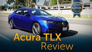 2018 Acura TLX - Review & Road Test