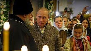 Russian Leaders Celebrate Orthodox Christmas | PM Medvedev | President Putin