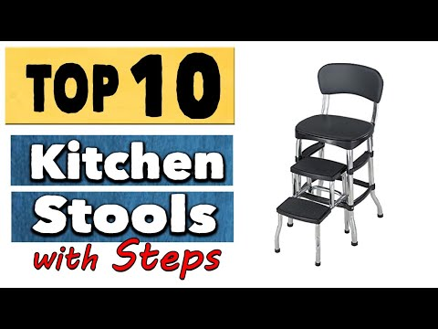best-kitchen-stools-with-steps-|-10-best-stools-for-kitchen-counter-|-folding-step-stools