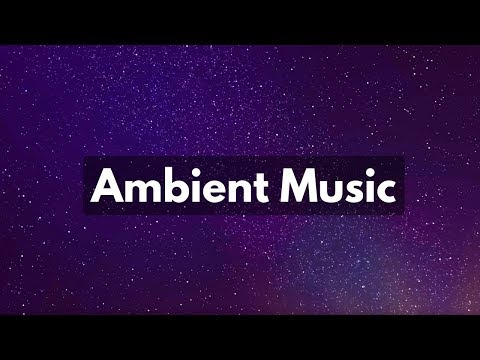 4 HOURS STARRY NIGHT SKY with Ambient Music | Calming Music, Relaxing Music, Music for Sleep