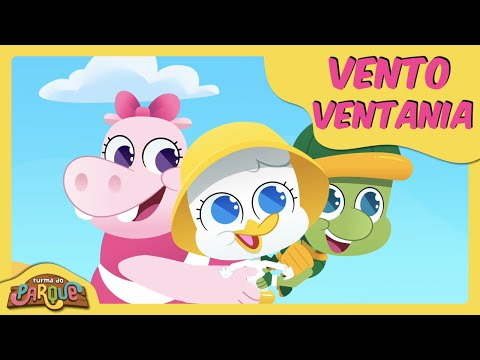 TURMA DO PARQUE | VENTO VENTANIA [CLIPE DE MÚSICA INFANTIL]