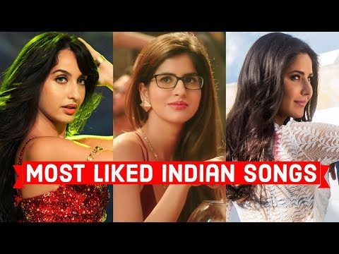 Top 20 Most Liked Indian/Bollywood Songs of All Time on Youtube | Hindi Punjabi Songs