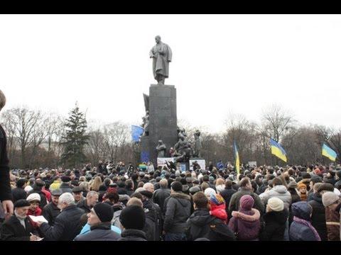 Евромайдан в Харькове. Robinzon.TV