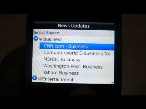 NewsFlash | RSS reader for BlackBerry smartphones by TWiSTSoft