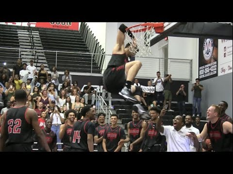 Kobe Paras Highlights from the 2017 CSUN Matador Madness + Dunk Contest (VIDEO)