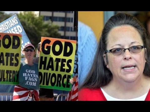Kim Davis Slammed by Westboro Baptist Church Religious Cult