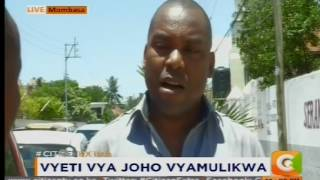 Governor Joho's classmate surfaces, claims they sat KCSE together