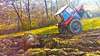 IMT 539 izvlacenje kamena , profesionalac za traktor , tractor and rock