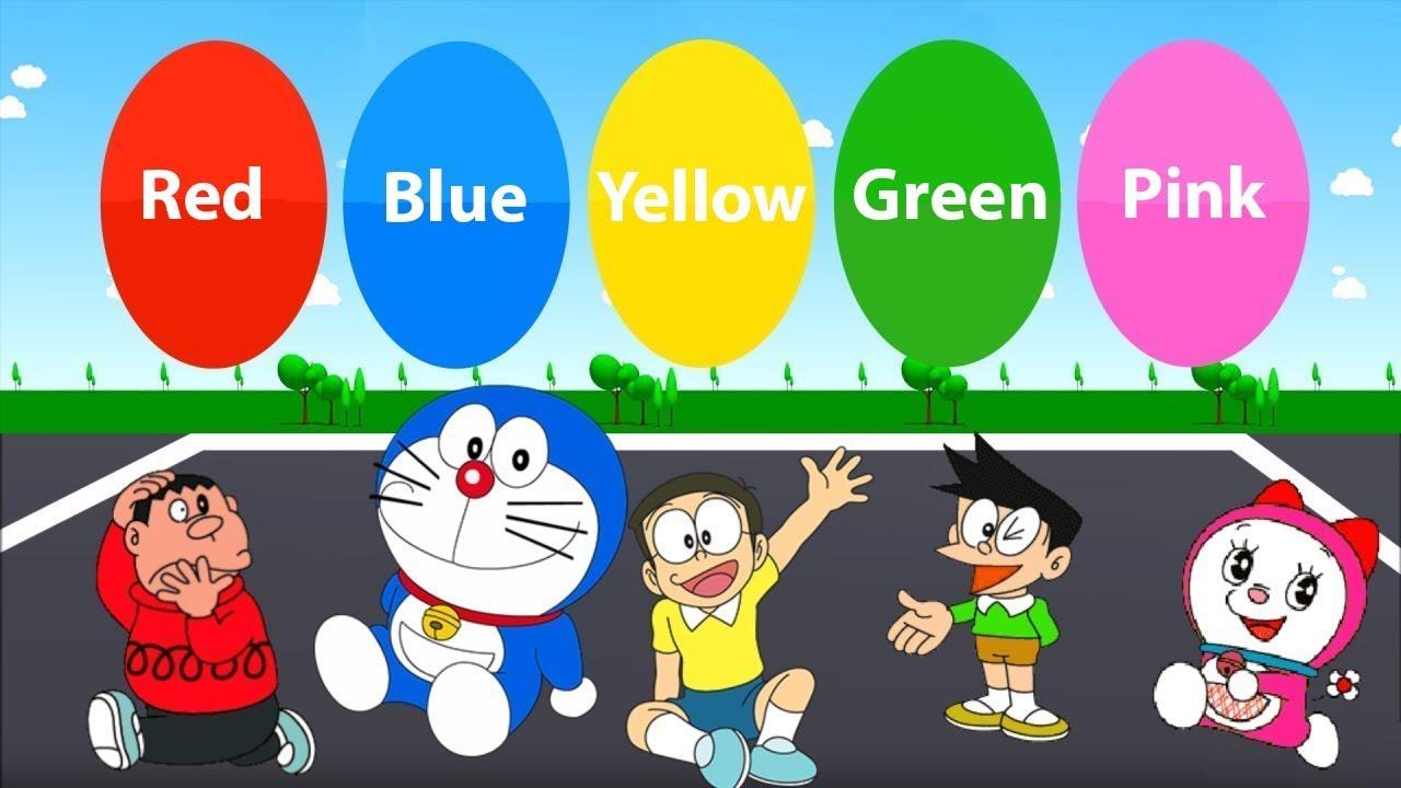 Colors - Học màu sắc bằng tiếng anh với bé 5 tuổi - YouTube