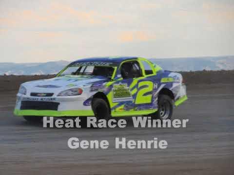 Desert Thunder Raceway IMCA Stock Car Heat Races 9/29/17