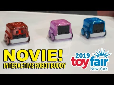 Spin Master NOVIE Interactive Robot At Toy Fair 2019!
