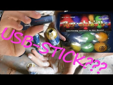 Airsoft: 40mm Fun 3 USB/Mehl/Smoke!
