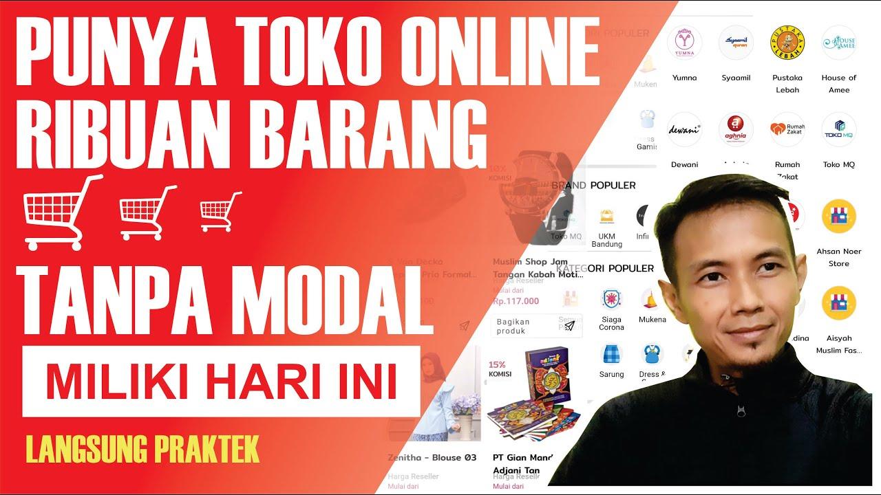 Bisnis Online Tanpa Modal - YouTube